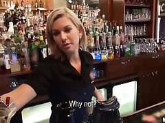 Who wished to fuck a barmaid?