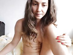 Teenie babe mega-slut filthy talks on cam.