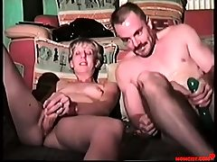 Daddy and daughter-in-law violate each others holes! Antique