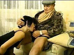 British brunette youthful first-timer blowjob