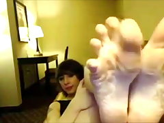 Poundable Punk Teen Luxurious Feet