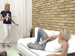 Hot moms fuck lovely teen daughters-in-law
