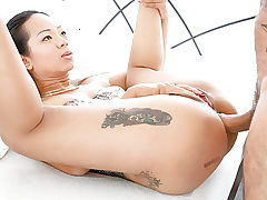 LETSDOEIT - Ass Inserting and Humiliation for Diminutive Thai Babe