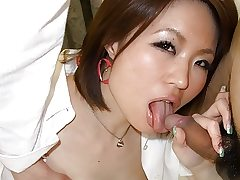 Bitchy chick, Miki Uemura is often cheating on her beau