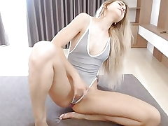 Blonde Orgasm Webcam
