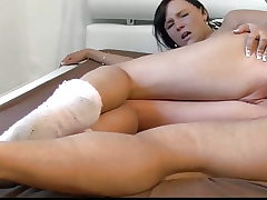 18yo Stepdaughter Likes Step Dad's Cock in Her Ass