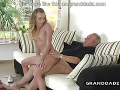 Stud maid determines to fuck lil niece in the rosy