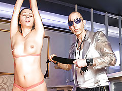 LETSDOEIT - Whipping and Restrain bondage Smacking for German Cougar