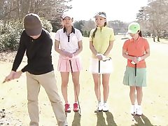 3 Adorable Japanese Femmes with the 1 lucky man